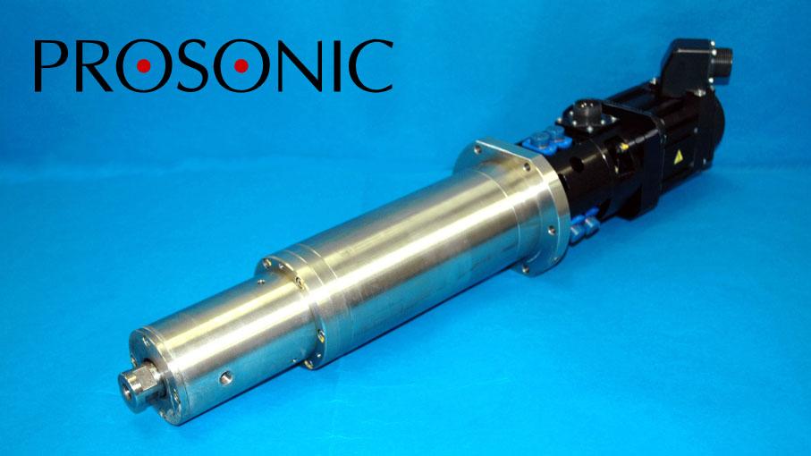 プロソニック製 超音波スピンドル